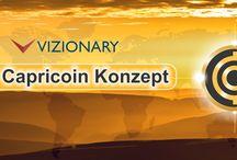 Vizionary und der Capricoin / Es geht hier um interessante Blgbeitrag mit Wissen und Erklärungen zu der Kryptowährung Capricoin von Vizionary