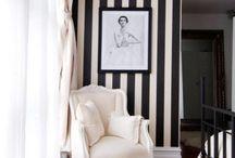 wood black gray living room