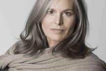 Beautiful Gray Hair / Inspiration