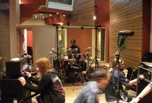 Recording Sessions / A selection of bands and artists recording and mixing in Miloco's studios.