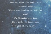 Song Lyrics / Awesome song lyrics and their incredibly talented artists!