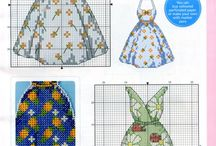 FASHION-CLOTHES-SEWING *CROSS STITCH-EMBROIDERY