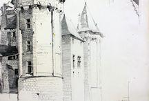 Jean Trouvelot (1897-1985) / Formé à l'ENSBA, il devient architecte en chef des monuments historiques au concours de 1920, chargé de l'Aisne, de l'Eure-et-Loir (1926), du musée de Cluny à Paris, de l'Yonne (1940). En 1936, il est nommé adjoint à l'inspection générale des Monuments historiques. Il est architecte en chef du château de Vincennes de 1942 à 1948, et de la rotonde de la Villette (Paris 19e) de 1948 à 1971.  ©Ministère de la Culture - Médiathèque de l'architecture et du patrimoine