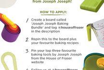 Joseph Joseph Baking Bundle / @houseoffraser