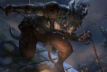 Elder Scrolls Legend Art