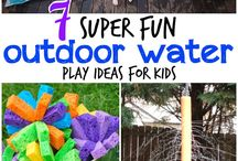 Outdoor Water Play Ideas