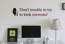 Quotes on walls / Design quotes on walls from 33dodo
