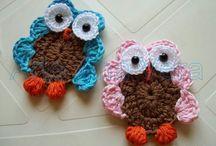Crochês... / favoritos em crochê das amigas e encontrados na net