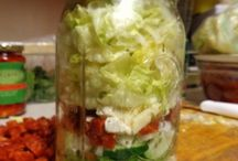 Salades Pot Mason