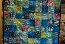 Just squares & crazy quilts