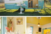 Caravan Tea Shops / A gorgeous way to have a tea or coffee, and a delicious treat!