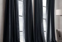 Drapery - curtains draped the way we like it