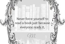 Quotes for Book Lovers / Quotes taken from books and about books.