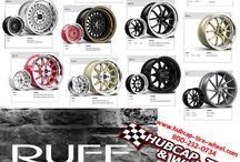 Ruff Racing Wheels & Rims / See all the latest Ruff Racing wheels and rims here! Specializing in staggered fitments!
