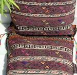 Saddlebags and cushions / cushions#saddle#bags#grain#bags#salt #bags#namakdaan#horse #blankets#ikat#colourful#bright#bold#natural#dyes#