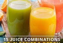 cleanse & detox juices