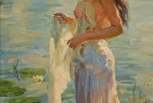 Vladimir Gusev festmények