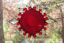 Stained Glass Suncatchers / Handmade stained glass suncatchers that will brighten any window in your home!