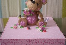rose biscuit ursinho