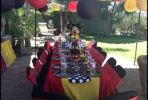 Party ideas / Mickey and Minnie