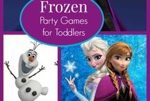 Mary's A Frozen party
