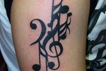 Tatuaże Muzyczne
