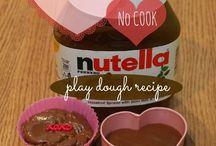 play dough (edibles)