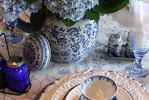 Blue and white / by Tina Whyte