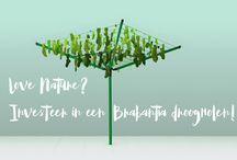 Steun het milieu en kies voor Brabantia / Brabantia is een samenwerking aangegaan met WeForest om ervoor te zorgen dat zij een steentje bijdragen aan een beter milieu. Door de samenwerking van deze twee, zorgt WeForest tegen woestijnvorming in diverse gebieden. Daarbij stimuleert WeForest de lokale economie op een duurzame manier. Dit prachtige initiatief moet natuurlijk gesteund worden. Was je van plan om een droogmolen of droogrek aan te schaffen?  Deze actie duurt nog tot 31 december dit jaar.