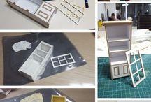 Muebles miniaturas