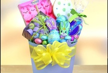 Easter Gift Baskets / Hippity, hoppity, Easter's on its way!  Send an Easter egg hunt in a basket with American Carepackage! / by American Carepackage