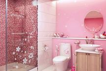 Hello kitty bathroom & guest room