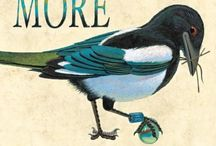MORE / things related to MORE, a picture book with story and illustrations by Brian Lies, text by I.C. Springman