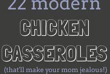 22 chicken casseroles