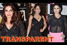 SHOCKING: Bollywood Actresses Caught in Transparent Dresses