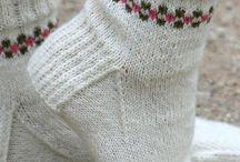 Socks, gloves