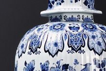 Delft blue porslin