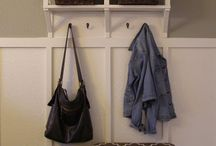 MUDROOM IDEAS / Design ideas & inspiration for creating a back entry mud room in our new home. Here you'll find ideas & inspiration for organization, function, storage & decor!