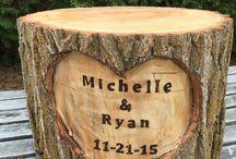 Wedding wood