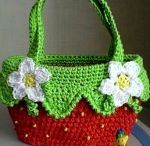 Crochet patterns / Crochet patterns for handbags, sweaters, socks, scarves, hats, slippers, and much more