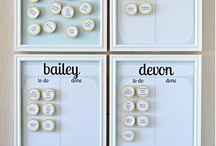 chores board idea