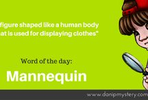 Dani P. Mystery - Word of the Day / Want to learn a new challenge word? Check out our Word of the day!
