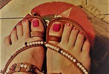LEATHER HANDMADE SANDALS WITH Semiprecious Stones
