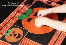 Fall/Halloween/Thanksgiving in PreK / by Ellysa Dagen