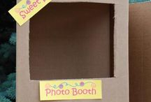 Photo Booth Ideas for parties / Photo booths seem to be such an in thing right now. Ideas are endless. / by Laura Vasquez