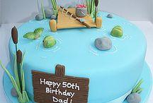 Dads 60th cake
