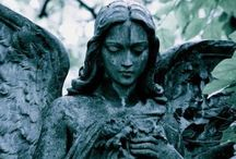 Forever Young / Cemetery Statue