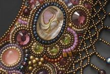 Beading - Bead Embroidery / www.etsy.com/shop/BeadsOfBohemia - COLLECTION OF BEAD EMBROIDERY Designs, Patterns, Instructions, Inspiration. - pins marked * are FREE patterns or instructions, - pins marked *P are patterns or instructions to buy