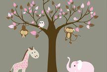 Nursery + Kids Room  / by Crystal Thibodeau-Wyman