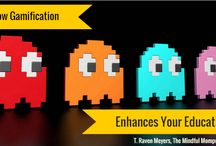 Gamification in Education / Game On! #gamification in #education, #gamebasedlearning  / by T.Raven Meyers